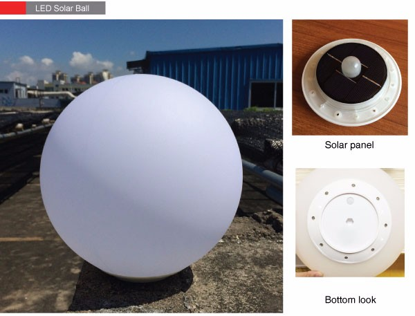 2017 hot sell solar ball light, led solar ball light, solar garden ball light