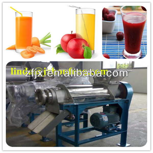 Commercial stainless steel fruit juicing machine apple pear orange juicer can automatically extract juice deslagging