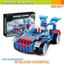 3 in 1 RC Building Block Car Toys Remote Control Car Block Toys