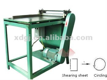 round/cylinder tin/metal can rolling forming machine
