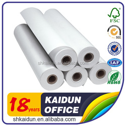 Promotional office thermal fax paper roll with printed paper package