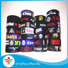 Bulk wholesale Indian silicone wristband /Cheap price Indian bracelet with debossed ink filled