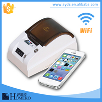 FC168 Wireless network online food order auto print 58mm restaurant Wifi portable receipt thermal printer