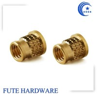 Factory OEM M3 Brass Threaded Insert for plastics
