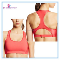 digital printing dry fit sports crop bra for women