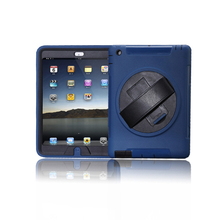 Rugged armor Leather Case for iPad 2/3/4 ,colors custom your brand covers for ipad 2 tablet case for iPad 4