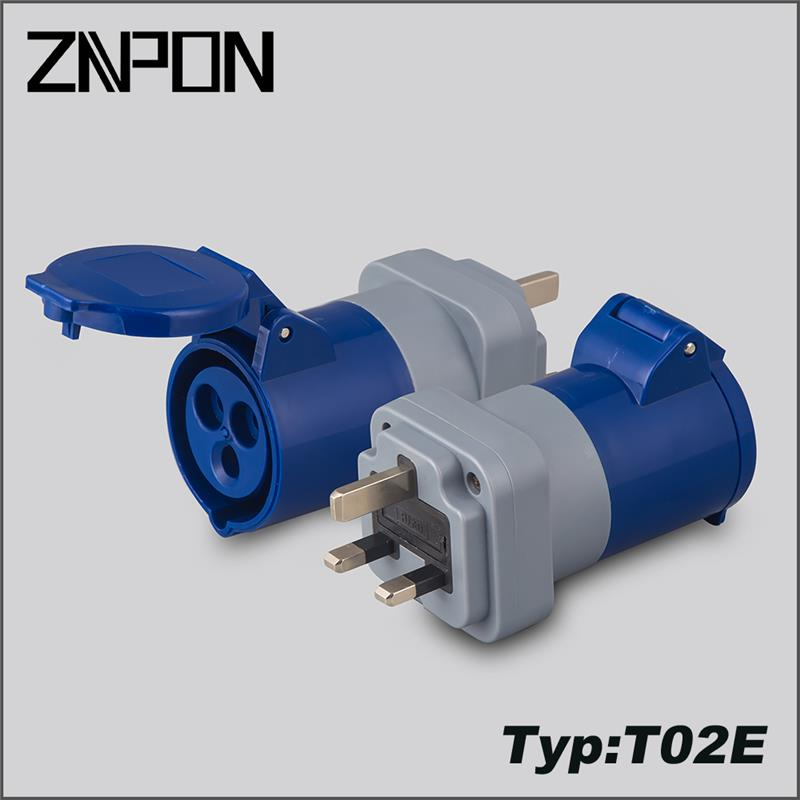 znpon power adaptor with great price T02E