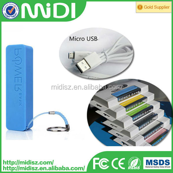 2600mAh Portable USB Power Bank Backup Battery External Battery Charger for Samsung for Nokia Mobile Phone