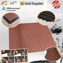 New style Hotel rubber mats/Drainage rubber mat/Anti slip rubber mat