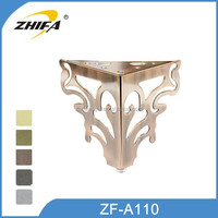 ZF-A110 Hot sale cabriole legs for sale cupboard feet divider tools cupboard feet