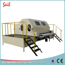 Best price multi-function non-woven electric carding machine