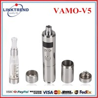 2014 supply high quality variable voltage e-cig vamov2 v3 v4 v5 e cig lavatube vamo v2/vamo v3 mod