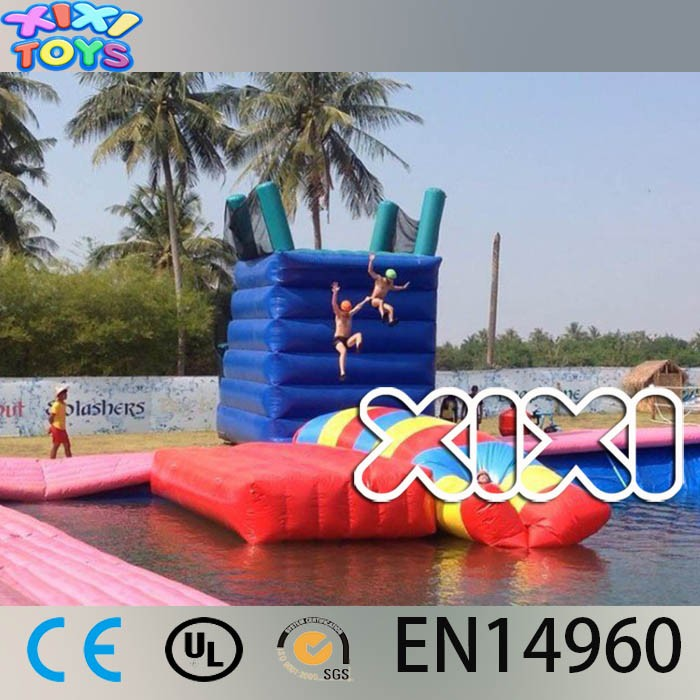 Inflatable Water Catapult Blob, Water Blob Jumping, Water Fun Game