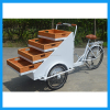 Factory Selling Cheap Price Electric Two Front Wheel Street Moving Vegetable Tricycle