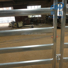 cheap anping 6 bars portable cattle yard panel for sale