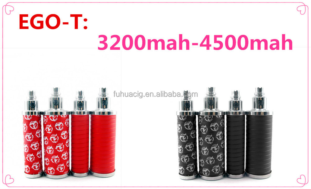 Wholesale 2014 the newest health care products ego ecig battery 4500mah ego t battery wick for ego t vaporizer