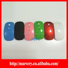 Wholesale 2.4G slim usb wireless mouse,colorful wireless case