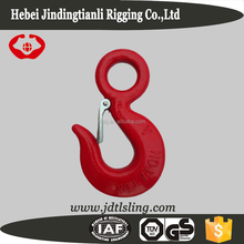 S-320A drop Forged lifting rigging hooks with safety lock pin