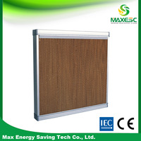poultry wet wall evaporative cooling systems and pads