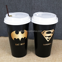 Disposable hot sale ripple paper cup for drink