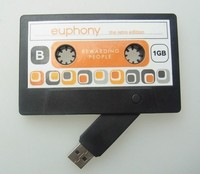 Cassette tape usb memory stick, magnetic tape usb stick, cassette tape usb flash drive
