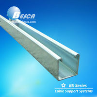 White Hot Dipped Galvanized C Profile Steel