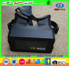 2016 Google cardboard VR BOX 2.0 Version 2 VR Virtual Reality Glasses Smart Bluetooth Wireless Mouse Remote Control Gamepad VR B