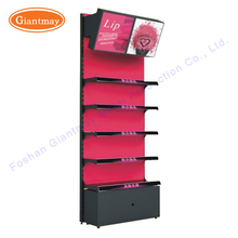 Wholesale custom retail store cosmetic makeup product exhibition floor display stand