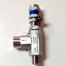 1/2 air pressure release valve high pressure safety relief valve