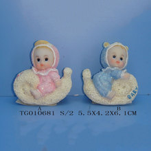 jesus resin little baby decoration figurines