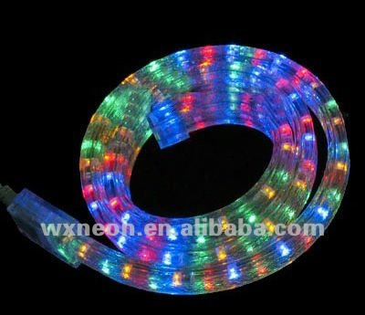 Multi Color Holiday Led Rope Light