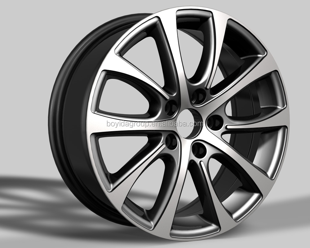 replica alloy wheels for trailer cars