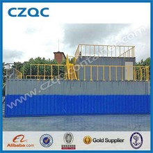 customized special container with stairs and fire protection