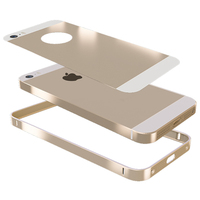 Wholesale alibaba for iphone SE bumper case,Gold aluminum Bumper phone case for iphone 5,for iphone 5s