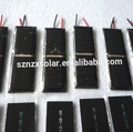 Custom Small Epoxy Resin 0.5V Solar Panel Cheap Solar Panel with Cable