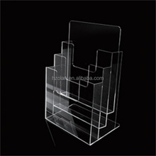 high quality acrylic information display stand