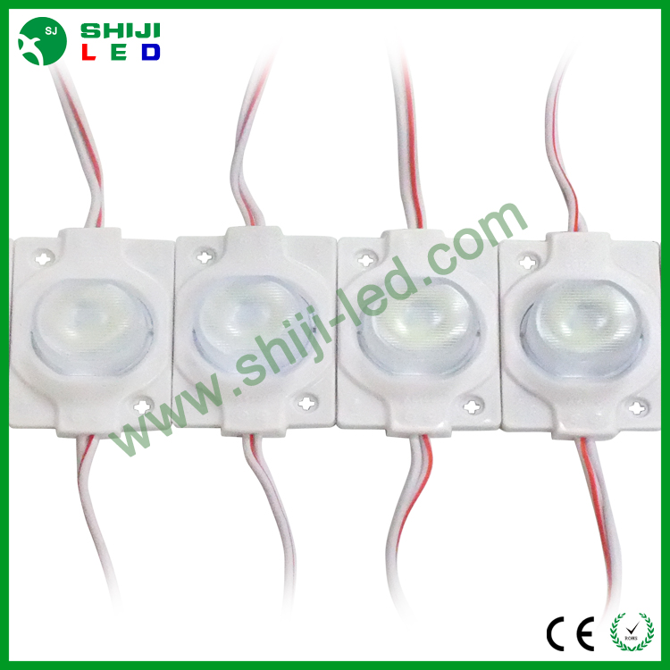 smd2835 waterproof 12v high power injection led sign module