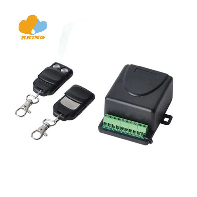 gate opener rf receiver transmitter 2 channels 433.92mhz