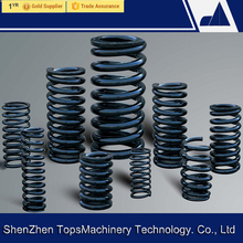 Custom drawing compression k26 excavator titanium spring/recoil spring caterpillar vio55 diameter 10mm