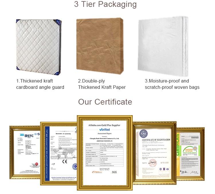 Punk comfortable and soft mattress whole sale hotel bed base compress gel memory foam mattress - Jozy Mattress | Jozy.net