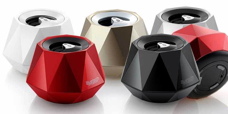 2016 Unique Diamond portable bluetooth mini speaker