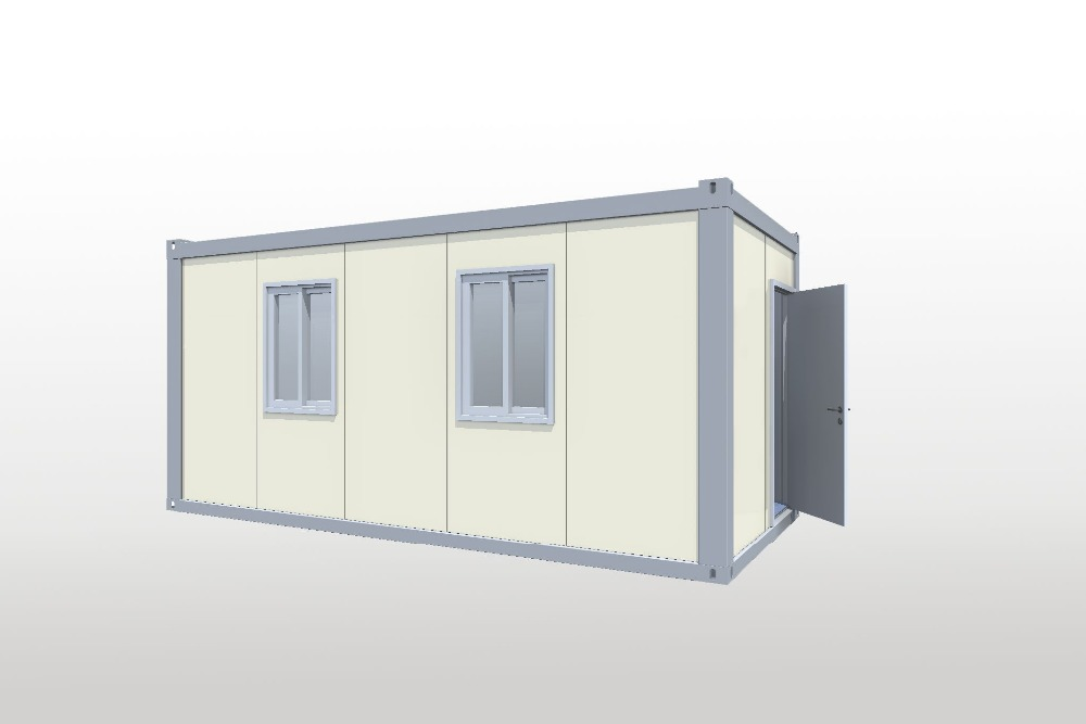 solar energy accommodation foldable prefab house