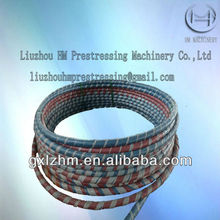 Galvanized steel strand stay cable for bridge