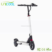 9 Inch 48v 500w Kick Folding Mobility Electric Scooter With pedals Front Suspension For Adults