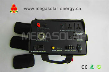 The cool apperance 600W automobile solar charger for emergency use,- Model: MS-600PSS