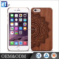 Customized design OEM/ ODM shockproof stand function wood mobile phone case for iphone case 6s/6s/6s plus 5se