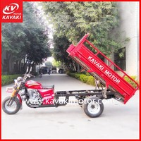 Good Hot Popular Gasoline Kenya Cargo Tricycle China 3 Wheel Tricycle Dealer