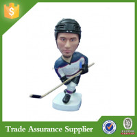 Resin Crafts Souvenir Gifts Handmade Custom Hockey Bobble Head