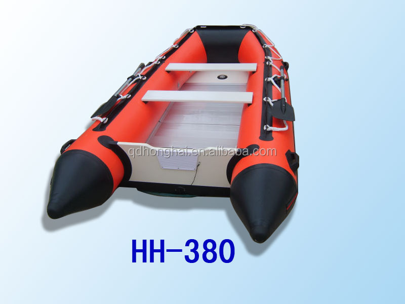 inflatable boat with CE racing boat fishing boat for sale