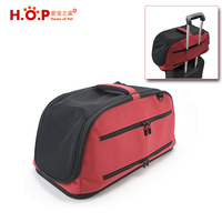 Amazon Hot Products Air In-Cabin Dog Carriers Travel Foldable Soft Sided Pet Dog Carrier For Airline Promotional Products